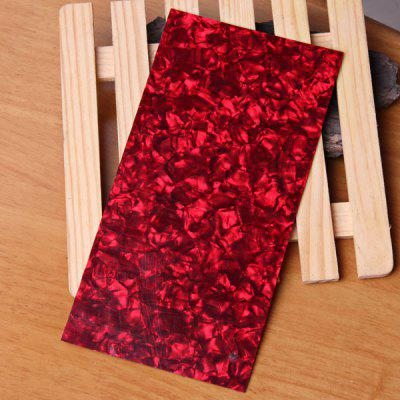 HV-001 Practical Red Pearl Sheet for Celluloid Guitar