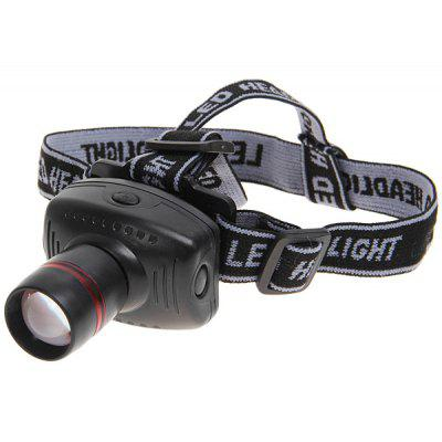 Cheap 8208 High Power Zoom Headlamp (Black and Gray)