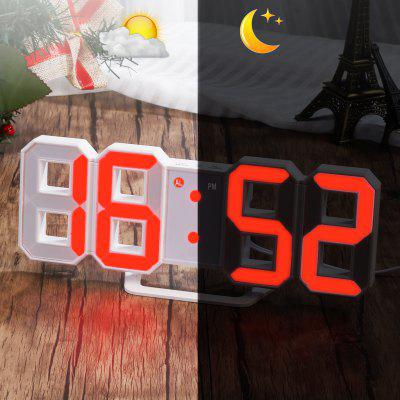 Red LED Digital Numbers Wall Clock with 3 levels Brightness Alarm Snooze ClockClocks<br>Red LED Digital Numbers Wall Clock with 3 levels Brightness Alarm Snooze Clock<br><br>Package size (L x W x H): 22.00 x 9.50 x 4.50 cm / 8.66 x 3.74 x 1.77 inches<br>Package weight: 0.2150 kg<br>Type: Alarm Clock, Table Clock, Wall Clock