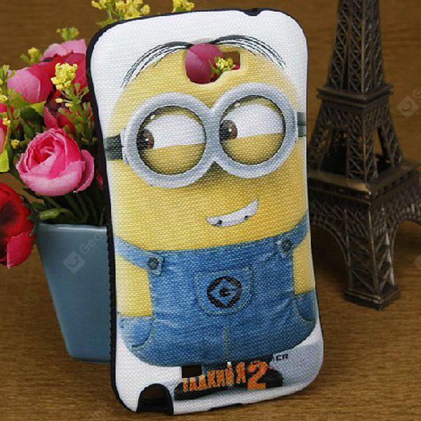 PC and Silicone Case with Despicable Me Design for Samsung Galaxy Note 2 N7100