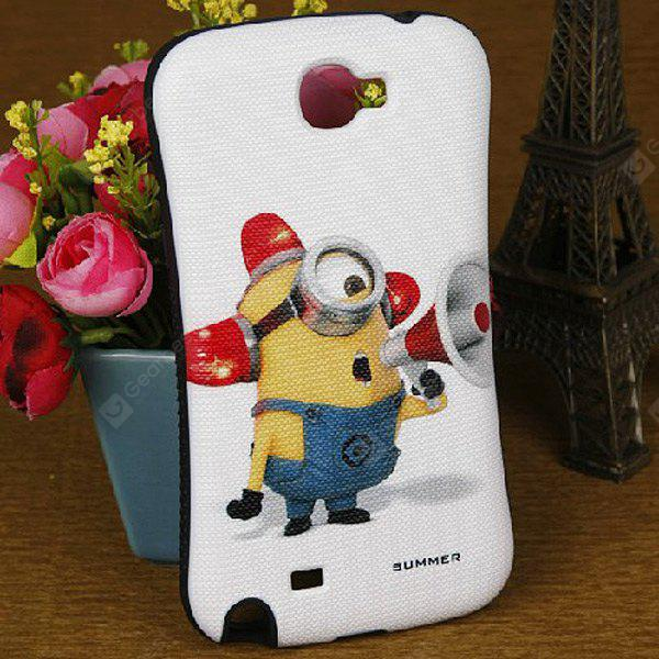 The Minion Style PC + Silicone Case for Samsung Galaxy Note 2 N7100
