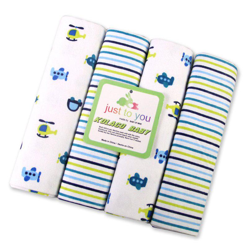 Pcs/Pack 100% cotton supersoft flannel receiving baby blanket baby bedsheet 76*76CM baby blankets cars