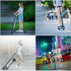 Flykul 5.5 Inches Foldable Fashionable Electric Kick Scooter - SCHWARZ