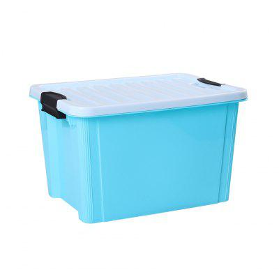 LANGRIA 10 Litre Stackable Buckle up Plastic Storage Box Container