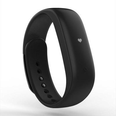 Lenovo HW02 Smart Wristband Bluetooth 4.2 Heart Rate Moniter IP67 Pedometer Calling Message Reminder Fitness Tracker Hidden Low-power OLED Screen for Android iOS