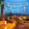 lampwin olar Powered Light-Sensitive Christmas Decoration Lights 30 LED Solar Light String Crystal Ball Solar Fairy LED String Lights for Outdoor/Indoor, Gardens, Houses, Patio, Porch, Lawn, Wedding, - WHITE