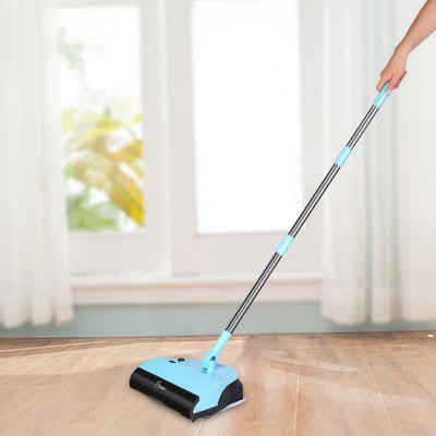 ovonni 3 in 1 household cordless floor and carpet sweeper with brush u0026 dustpan