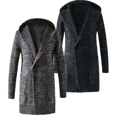 Unise  Pockets Knit Long-Sleeved Long Hooded Sweater OutwearMens Sweaters &amp; Cardigans<br>Unise  Pockets Knit Long-Sleeved Long Hooded Sweater Outwear<br><br>Collar: Hooded<br>Materials: Polyester<br>Package Content: 1 X  Mens Casual Long Hoodies Sweater Cardigan Coats<br>Package Dimension: 25.00 x 20.00 x 1.00 cm / 9.84 x 7.87 x 0.39 inches<br>Package weight: 1.4000 kg<br>Type: Cardigans