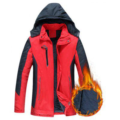 Men Sportswear Hooded Softershell Outdoor Raincoat Waterproof JacketMens Jackets &amp; Coats<br>Men Sportswear Hooded Softershell Outdoor Raincoat Waterproof Jacket<br><br>Clothes Type: Jackets<br>Collar: Crew Neck<br>Material: Rayon<br>Package Contents: 1 X Mens Outdoor Waterproof Mountain Jacket Fleece Windproof Ski Jacket<br>Season: Spring, Winter<br>Shirt Length: Long<br>Sleeve Length: Long Sleeves<br>Style: Casual<br>Weight: 0.9800kg
