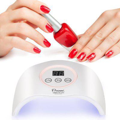 Ovonni Nail Dryer UV LED Nail Lamp, Built In Auto On/Off Sensor ...