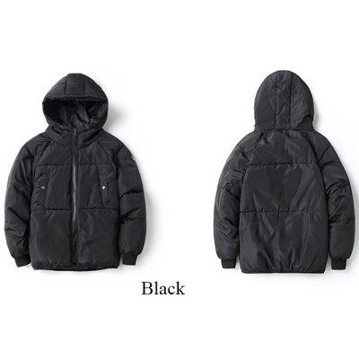 Men Casual Solid  Cotton Jacket Outerwear warm coatMens Jackets &amp; Coats<br>Men Casual Solid  Cotton Jacket Outerwear warm coat<br><br>Clothes Type: Padded<br>Collar: Crew Neck<br>Material: Polyester<br>Package Contents: 1 X Men s Hooded Warm Coat Jacket<br>Season: Spring, Winter<br>Shirt Length: Long<br>Sleeve Length: Long Sleeves<br>Style: Casual<br>Weight: 0.9600kg