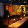 Lampwin Solar Lights, Waterproof Flickering Flames Torches Lights Outdoor Landscape Decoration Lighting Dusk to Dawn Auto On/Off Sensor Lamp for Garden/Pathways/Yard/landscape/lawn - BLACK