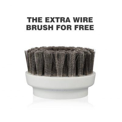 (SCRUB US) Finether Handheld Cordless Power Scrubber With Leather Care - 7 brushes, 1 Scouring Pad and 1 Rechargeable Battery Included, For Kitchen, Bathroom and Outdoor Furniture туалетный табурет us and european antique furniture