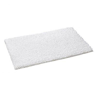 LANGRIA Soft Plush Chenille Yarn Shaggy Mat Anti-slip Back Bathroom Living Room Bedroom Rug Floor Water Absorbent 20 x 32 inches (1 Piece, White) 1 4cm thick cartoon puzzle play mat 28pcs lot baby crawling rug climb pad children carpet eva foam kids game soft floor toy 450