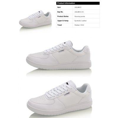Li-Ning Men\s Leather Classic Shoes Skatingboard Sneakers AGLM013-1Men's Sneakers<br>Li-Ning Men\s Leather Classic Shoes Skatingboard Sneakers AGLM013-1<br><br>Brand: LI-NING<br>Closure Type: Lace-Up<br>Features: Breathable<br>Highlights: Breathable<br>Package Contents: 1 pair of shoes<br>Package size: 30.00 x 20.00 x 10.00 cm / 11.81 x 7.87 x 3.94 inches<br>Package weight: 0.8000 kg<br>Sole Material: Rubber<br>Upper Height: Middle