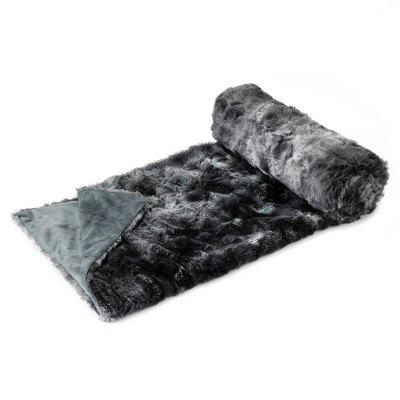LANGRIA Faux Fur Fleece Throw Fluffy Cozy Soft Dyed Blanket Warm Breathable Bed Couch Throw Lightweight Easy Care for Winter, 50 x 60, GrayHome &amp; Garden<br>LANGRIA Faux Fur Fleece Throw Fluffy Cozy Soft Dyed Blanket Warm Breathable Bed Couch Throw Lightweight Easy Care for Winter, 50 x 60, Gray<br>