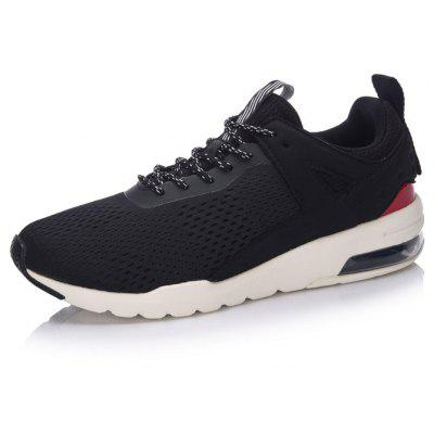 Li Ning Men Essential Pacer Air Cushion Running Shoes Breathable Sneakers Sports Shoes GLKM093-1Men's Sneakers<br>Li Ning Men Essential Pacer Air Cushion Running Shoes Breathable Sneakers Sports Shoes GLKM093-1<br><br>Brand: LI-NING<br>Closure Type: Lace-Up<br>Features: Anti-slip, Breathable, Light weight<br>Highlights: Breathable<br>Package Contents: 1 pair of shoes<br>Package size: 30.00 x 20.00 x 10.00 cm / 11.81 x 7.87 x 3.94 inches<br>Package weight: 0.7500 kg<br>Size: 10,10.5,11,8,8.5,9,9.5<br>Sole Material: Rubber, EVA<br>Type: Running Shoes