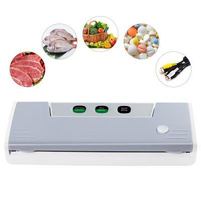Household Vacuum Sealer Sealing System for Wet Dry Food Preservation Storage, Keeps Food 5x Longer, Moist/Dry Mode, Seal-Only Function, for Sous Vide Clothing Paperwork Jewelry, 5 Vacuum Bags IncludedOthers<br>Household Vacuum Sealer Sealing System for Wet Dry Food Preservation Storage, Keeps Food 5x Longer, Moist/Dry Mode, Seal-Only Function, for Sous Vide Clothing Paperwork Jewelry, 5 Vacuum Bags Included<br>