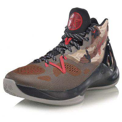 Li-ning Speed & Sound V Series men\'s professional basketball shoes men\'s camouflage sneakers