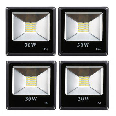 Excelvan®30W Super Bright Outdoor LED Flood Lights,SMD5730,2400LM,2800-3200K Warm White,75W HPS Bulb Equivalent,IP66,Used For Villa,Stage,Ancient Buildings,Culture Square,etc.[Energy Class A+]
