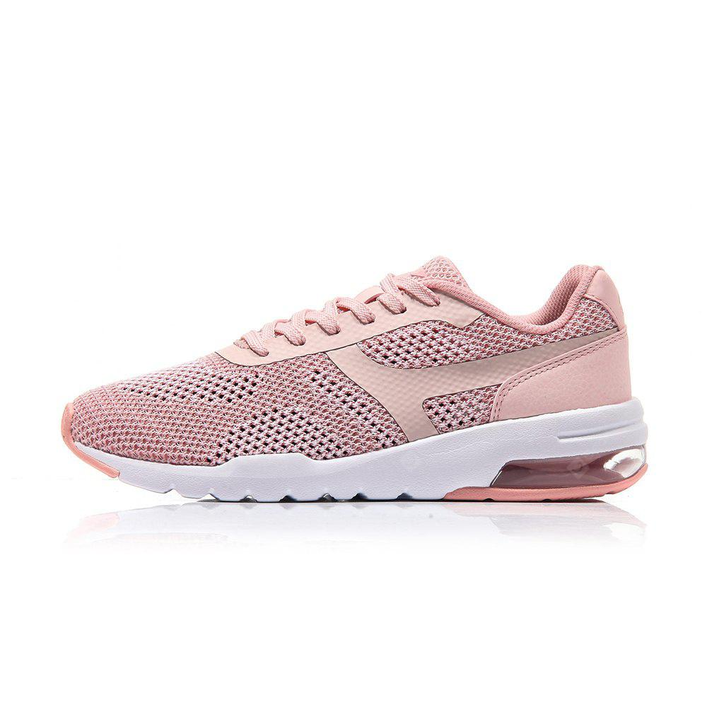 Li-Ning Women\'s Bubble UP Knit Classic Running Shoes Light Weight Textile&TPU Sports Shoes Breathable Sneakers AGCM046