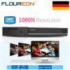 FLOUREON 5 IN 1 TVI 8CH AHD 1080N HDMI H.264 CCTV Security Video Recorder DVR NVR EU - BLACK