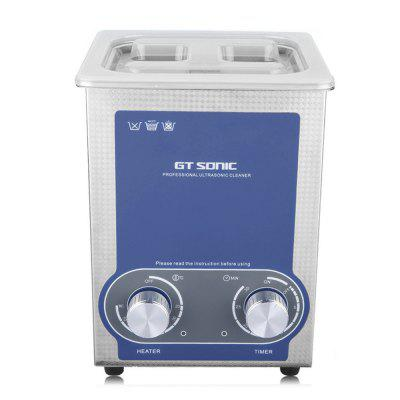 2L Ultrasonic Cleaner Heating Timer Stainless Tank EU