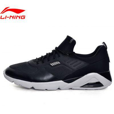 Li-Ning Men Bubble Cushion Sport Walking Shoes Fitness Comfort Sneakers Textile LiNing Sneakers Sports Shoes GLKM099