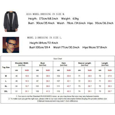 Men Plus Size Fleeced Hooded Outfit JacketMens Hoodies &amp; Sweatshirts<br>Men Plus Size Fleeced Hooded Outfit Jacket<br><br>Clothes Type: Jackets<br>Collar: Hooded<br>Fabric Type: Fleece<br>Material: Cotton, Polyester<br>Package Contents: a jacket<br>Season: Fall, Winter<br>Shirt Length: Regular<br>Sleeve Length: Long Sleeves<br>Style: Casual<br>Weight: 1.1600kg