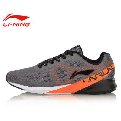 Li-Ning Men Colorful Cushion Running Shoes Breathable Wearable LiNing Sports Shoes Sneakers ARHM039-1