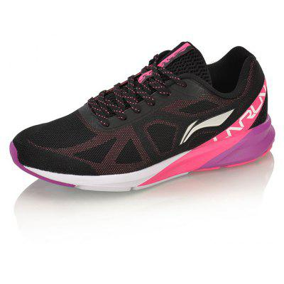 Li-Ning Women Colorful Cushion Running Shoes Breathable LiNing Sports Shoes Sneakers ARHM054-1Men's Sneakers<br>Li-Ning Women Colorful Cushion Running Shoes Breathable LiNing Sports Shoes Sneakers ARHM054-1<br><br>Brand: LI-NING<br>Closure Type: Lace-Up<br>Features: Anti-slip, Breathable, Light weight<br>Gender: Women<br>Highlights: Breathable<br>Model Number: ARHM054<br>Package Contents: 1 pair of shoes<br>Package size: 30.00 x 19.00 x 11.00 cm / 11.81 x 7.48 x 4.33 inches<br>Package weight: 0.7500 kg<br>Sole Material: Rubber, EVA<br>Type: Running Shoes<br>Upper Height: Middle