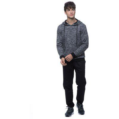 Fashion mens knitted  hoodie comfortable textureMens Hoodies &amp; Sweatshirts<br>Fashion mens knitted  hoodie comfortable texture<br><br>Material: Cotton, Polyester, Spandex<br>Package Contents: 1*Sweater<br>Shirt Length: Long<br>Sleeve Length: Three Quarter<br>Style: Fashion<br>Weight: 0.5500kg