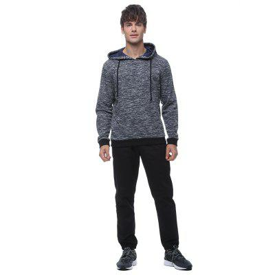 Fashion men's knitted  hoodie comfortable texture