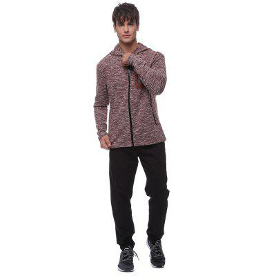 Men\s high-quality open-chest sports hoodieMens Hoodies &amp; Sweatshirts<br>Men\s high-quality open-chest sports hoodie<br><br>Material: Cotton, Polyester, Spandex<br>Package Contents: 1 * sweater<br>Shirt Length: Regular<br>Sleeve Length: Three Quarter<br>Style: Active<br>Weight: 0.6300kg