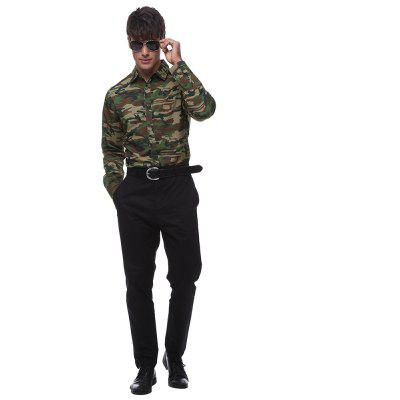 Men\s fashion camouflage shirtMens Shirts<br>Men\s fashion camouflage shirt<br><br>Collar: Turn-down Collar<br>Material: Polyester<br>Package Contents: 1 * shirt<br>Shirts Type: Casual Shirts<br>Sleeve Length: Full<br>Weight: 0.1900kg