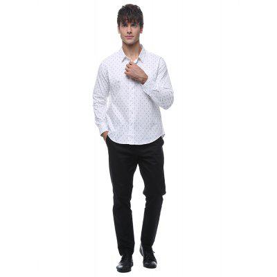 Men\s cotton printed long-sleeved shirtMens Shirts<br>Men\s cotton printed long-sleeved shirt<br><br>Collar: Stand Collar<br>Material: Cotton<br>Package Contents: 1*shirt<br>Shirts Type: Casual Shirts<br>Sleeve Length: Three Quarter<br>Weight: 0.2200kg