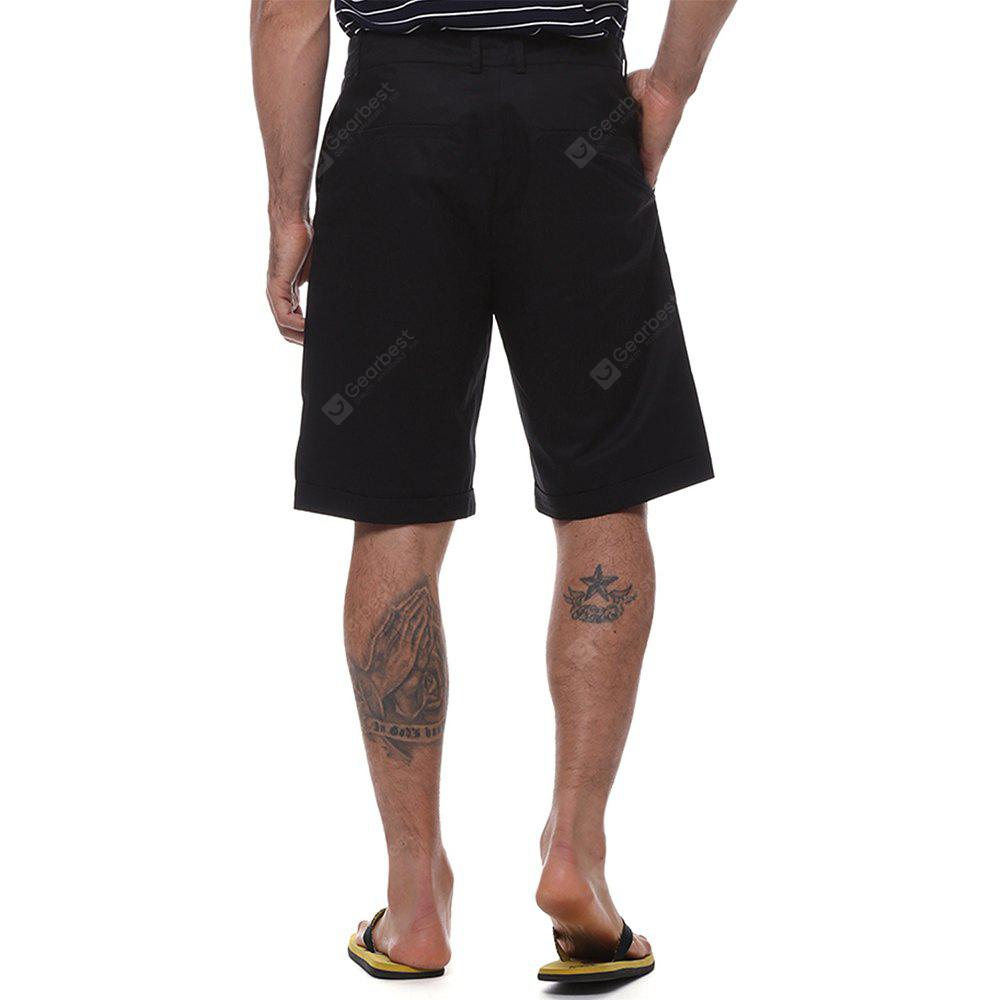 Men's solid color high quality shorts