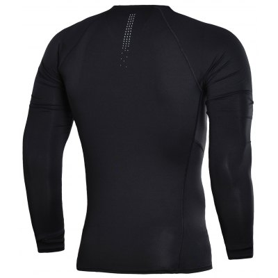 Li-Ning Mens  PRO Jogger Sports Long-Sleeved Shirt  AUDN033-1Weight Lifiting Clothes<br>Li-Ning Mens  PRO Jogger Sports Long-Sleeved Shirt  AUDN033-1<br><br>Elasticity: Elastic<br>Material: Polyester, Spandex<br>Package Contents: 1*T Shirt<br>Pattern Type: Solid<br>Weight: 0.3000kg