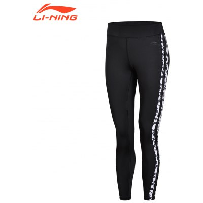 Li-Ning Women \ 's The Trend Tights pantalon de couche sport AULN042-2