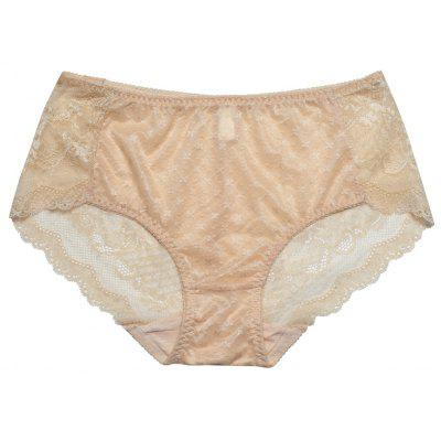 Women Lace Trim Sexy See Through Underwear Panty
