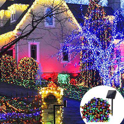 YWXLight 12M Waterproof Solar String Light for Outdoor Christmas Party Decoration