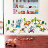 YEDUO Animals Running Wall Sticker Vinyl Diy Mural Home Decor Kids Room Decals - COLORMIX