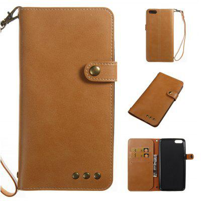 Buy YELLOW Wkae Crazy Horse Texture Retro PU Leather Case with Wallet Card Slots for Xiaomi 6 Plus for $8.41 in GearBest store