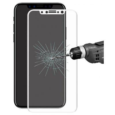 Hat Prince Carbon Fiber Soft Edge 9H Tempered Glass 3D Full Coverage Screen Protector for iPhone 8