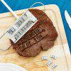 Macroart BBQ Meat Branding Iron with Changeable 55 Letters Grill Steak Meat Barbecue Tong Tool Set - AS THE PICTURE