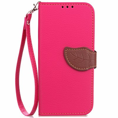 Love Leaf Card Lanyard Pu Leather for Samsung C7 Pro
