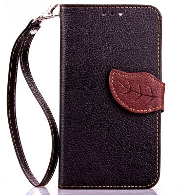 Buy BLACK Love Leaf Card Lanyard Pu Leather for Viko Bloom for $5.93 in GearBest store