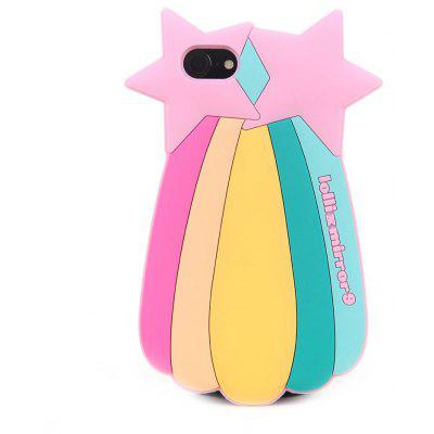 3D Cartoon Rainbow Star Case for iPhone 6/6S Plus