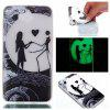 Wkae Moon Lovers Colorful Pattern Noctilucent Soft Transparent Case for HUAWEI Y5 2017 - COLORFUL