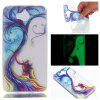 Wkae Couple Tree Colorful Pattern Noctilucent Soft Transparent Case for HUAWEI Y5 2017 - COLORFUL
